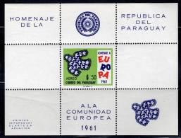 PARAGUAY - 1961 - BLOC  N°15  **  EUROPA - Europa-CEPT
