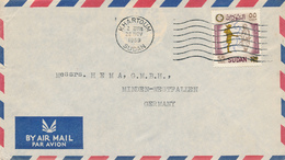 SUDAN - KHARTOUM - 1959 , Letter To Minden - Sudan (1954-...)