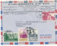 VIET-NAM - SAIGON  - 1960 , Letter To Minden - Vietnam