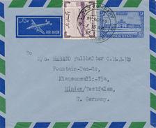 PAKISTAN - LAHORE  - 1959 ,  Inland-letter To Minden - Palestine