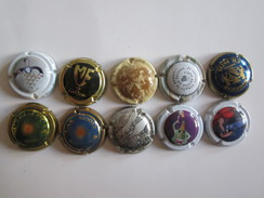 Champagne Capsules Capsule Lot - Collections