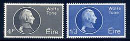 Ireland  Sc#  192-193  MH  Complete Set   1963 - 1949-... Republic Of Ireland
