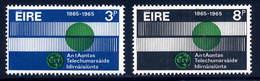 Ireland  Sc#  198-199  MH  Complete Set   1965 - 1949-... Republic Of Ireland