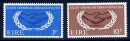 Ireland  Sc#  202-203  MNH  Complete Set   1965 - 1949-... Republic Of Ireland