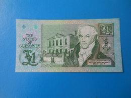 Guernesey Guernsey 1 Pound 1991 P52c UNC - Guernsey