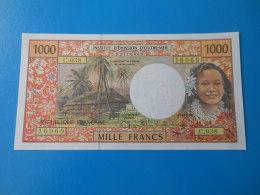 French Pacific Territories Tahiti 1000 Francs 1996 P2a/b UNC - French Pacific Territories (1992-...)