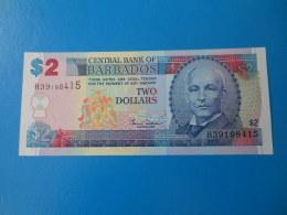 Barbades Barbados 2 Dollars 2000 P60 UNC - Barbades