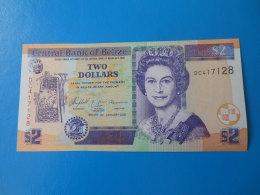 Belize 2 Dollars 2005 P66b UNC - Belize