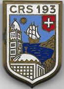 C.R.S. 193 ( DEY - ALGER )  - Insigne émaillé  Drago Romainville - Police & Gendarmerie