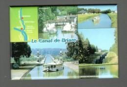 LOIRET, 45, MAGNET BRIARE, ECLUSES DE ROGNY, FORMAT 6 X 7,8 Cm - Tourisme