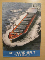 Shipyard BRODOSPLIT Yugoslavia Croatia Catalog Review 1965 - Bateaux