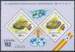 BL158, Coupe Du Monde De Football, Légende ESPANA 92 - Blocks & Kleinbögen