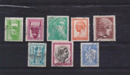 GREECE STAMPS ANCIENT ART(PART III) -1958/1960-USED-COMPLETE SET - Used Stamps