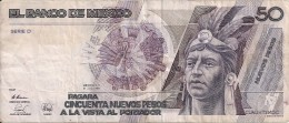 MEXIQUE 50 NUEVOS PESOS 1992 VF P 97 - Messico