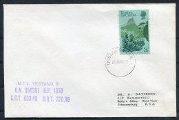 1975 Tristan M.F.V. TRISTANIA 2 Ship Cover - Tristan Da Cunha