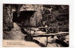 CPA-PL533-SASSENAGE LA GROTTE CARREE ET LA PASSERELLE 1926 - Sassenage