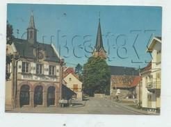 Zinswiller (67) : La Place De La Mairie   En 1986  GF - France