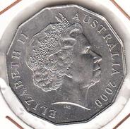 AUSTRALIA 2000  ELISABETH II. AÑO DEL MILENIO .EBC. CN4018 - Moneda Decimale (1966-...)