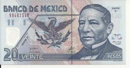 MEXIQUE 20 PESOS 2001 UNC P 116 B - Mexico