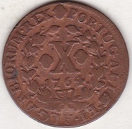 Portugal. 10 Reis 1764 Joseph I. KM# 243.2. Cuivre/Copper - Portugal