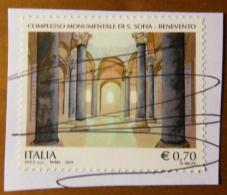 2013 Nr 3451 Patrimonio Artistico E Culturale Italiano - Complesso Monumentale Di S.Sofia, Benevento 0,70 €  Vedi Foto - 6. 1946-.. Repubblica