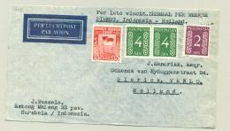 Nederland - Indonesia - 1950 - 1e KLM-vlucht Djakarta - Amsterdam 6x Per Week - Nederlands-Indië