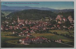 Burgdorf Mit Bezirkskrankenhaus Von Der Rothöhe Aus - Photoglob No. B 992 - BE Berne
