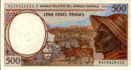 GABON  500 E  1000 FRANCS De 1994 Pick 401b Et 402b  UNC/NEUF - Gabon