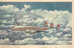 TWA'S Lockheed Constellation - 1946-....: Moderne