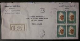 Enveloppe Maroc Ayant Circulée - 1984 - Morocco (1956-...)