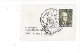 19034- Christkindl  Cover 2.12.1962 Pour Turgi  Suisse - Noël