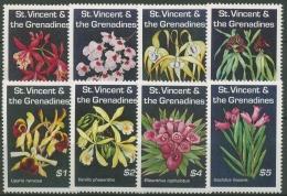 St. Vincent 1994 Orchideen 2711/18 Postfrisch - St.Vincent (1979-...)