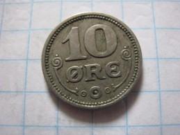 Denmark 10 øre 1921 - Danemark