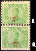 YUGOSLAVIA - JUGOSLAVIA - PORTO - I + II Typ  Ovpt.  - **MNH - 1921 - Unused Stamps
