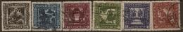 AUSTRIA 1926 Child Welfare SG 636-41 U #XA351 - Used Stamps