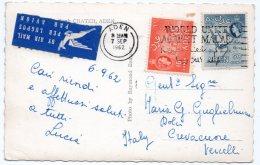 ADEN/YEMEN - THE CHARTERED BANK, CRATER / MALARIA CANCEL 1962 - Yemen