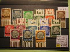 1186 Besetzungen Luxemburg, Lot Aus MiNr.1-16, **,  Siehe Abbildung, Kein Porto, Nur PayPal - Occupation 1938-45