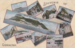 Gibraltar Souvenir With Multi View - Gibraltar