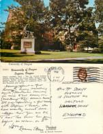 University, Eugene, Oregon, United States US Postcard Posted 1981 Stamp - Eugene