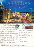 The Strip, Las Vegas, Nevada, United States US Postcard Posted 2005 Stamp - Las Vegas