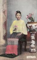 Myanmar Burma A Burmese Manipur Pride In Traditional Costume - Myanmar (Burma)