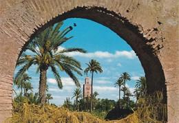 MAROC---MARRAKECH--la Koutoubia---voir 2 Scans - Marrakech
