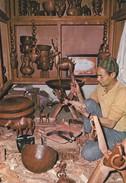 MAROC---MARRAKECH---sculpteur Sur Bois---voir 2 Scans - Marrakech