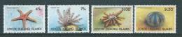 Cocos Keeling Island 1991 Marine Starfish & Sea Urchin Set 4 MNH - Cocos (Keeling) Islands