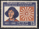 India MNH 1973, Nicolaus Copernicus, Astronomer, Astronomy Science,, Mathematics, Medicine, Etc.