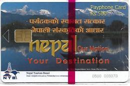 @+ TC Du Népal 500 Neuve Sous Blister - Ref : NEP-tele-03 - Nepal
