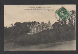DD / 86 VIENNE / CELLE-LÉVESCAULT / CHÂTEAU DE CELLE-VEZAY / VUE D'ENSEMBLE / CIRCULÉE EN 1912 - France