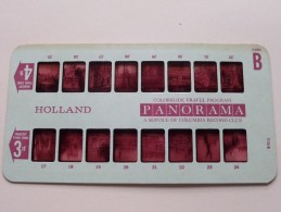 HOLLAND PANORAMA Card B ( Colorslide Travel Program Columbia Record Club / Zie Foto´s Voor Details ) ! - Lieux