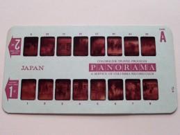 JAPAN PANORAMA Card A ( Colorslide Travel Program Columbia Record Club / Zie Foto´s Voor Details ) ! - Lieux