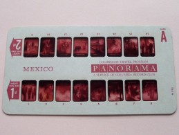 MEXICO PANORAMA Card A ( Colorslide Travel Program Columbia Record Club / Zie Foto´s Voor Details ) ! - Lieux